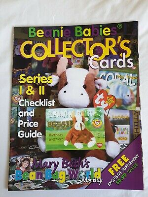 Beanie Babies Collectors Card  Magazine Series 1 & 2 Check List Collectors Card • 1.50£