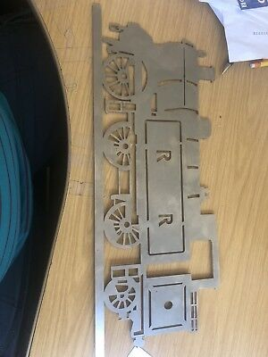Steam Train Lasercut Shape/Stencil • 15.99£
