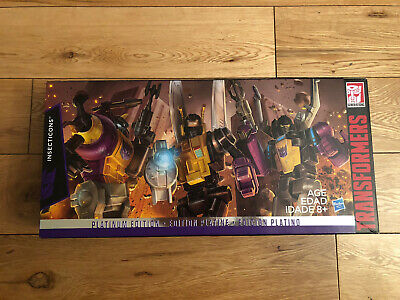 Transformers Hasbro Generations Insecticons Platinum Edition • 19.99£