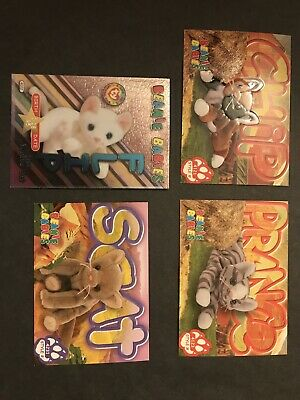 16 Ty Collector's Cards - Cats • 1.80£