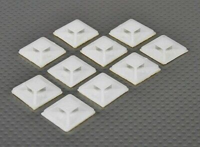 Cable Tie Anchors Self-adhesive Small Size - 10pcs/bag Rc Plane Boat Glider • 2.99£