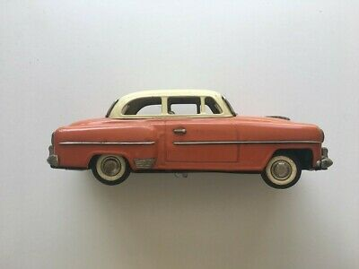 Vintage Tin Plate Toy Car Battery Operated • 190£