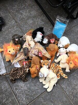Beanie Animals Joblot With Tags Never Used • 2.50£
