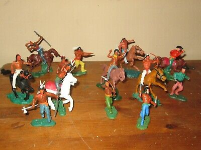 Lonestar ? Swoppet Cowboys And Indians Plastic Toy Soldiers 1/32 • 4.99£
