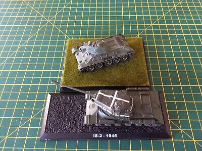 Dragon Armor/dagostini - Wwii - Soviet Tanks - T-34/76 And Is-2-1945 Scale 1/72 • 10£
