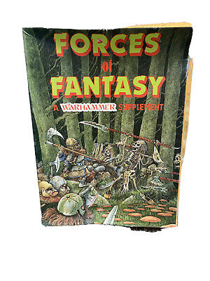 Warhammer Forces Of Fantasy Supplement First Edition 1984 • 1.99£
