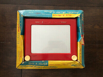 Vintage Etch A Sketch Toy In Packaging - Collectors Piece • 25£