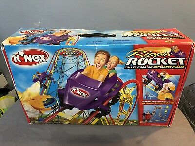 K'Nex Knex Rippin Rocket Roller Coaster Pre Owned With Instructions In Box • 35£