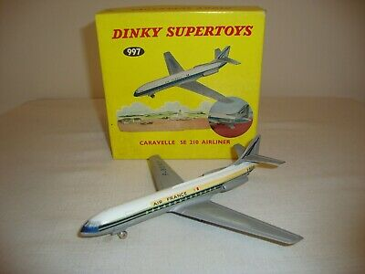 DINKY 997 CARAVELLE SE210 AIRLINER - VERY GOOD In Original BOX • 52£