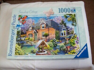 Ravensburger - Snowdrop Cottage - Country Cottage No 11 - 1000 Piece Jigsaw • 8.50£