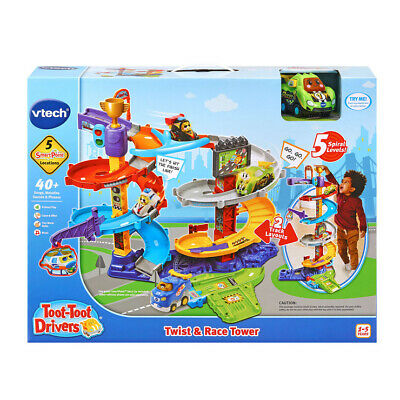 VTech Toot Toot Drivers Twist And Race Tower - 12 + Months - Free Delivery • 39.95£