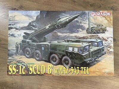Dragon 3520 - 1/35 Ss-1C Scud B With Maz-543 Tel - New • 59.99£