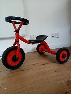 Winther Mini Viking Push Tricycle With Steering Wheel • 40£