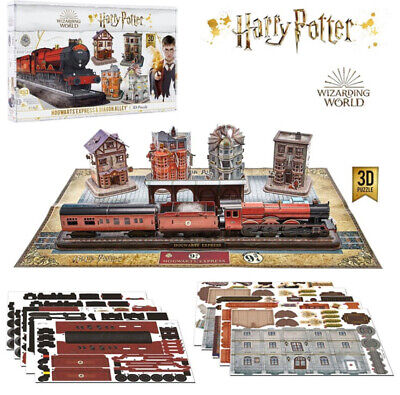 428 Piece Harry Potter Hogwartz Express 3D Puzzle Jigsaw Includes Base Board New • 39.95£