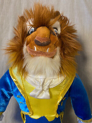 Beast Soft Toy From Beauty And The Beast - Disney Princess - Excellent Condition • 2.80£