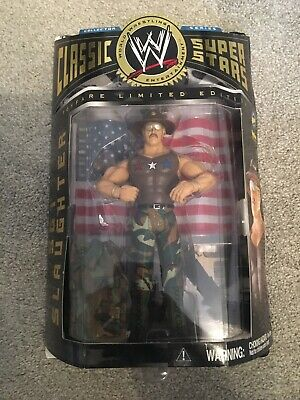 WWE Classic Superstars - 1 Of 3000 Sgt Slaughter Figure MOC - Toyfare Exclusive • 8.50£