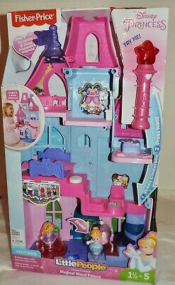 NEW Fisher-Price DISNEY PRINCESS MAGICAL WAND PALACE (DRL52) W/Lights & Sounds • 54.99£