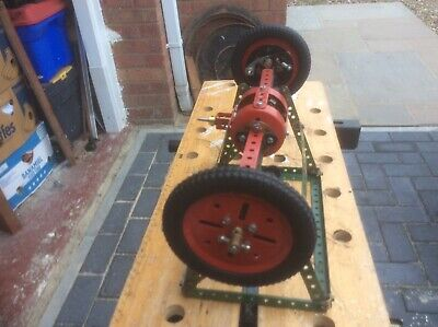 Meccano Vintage Model Working Model Car Differential • 39.99£