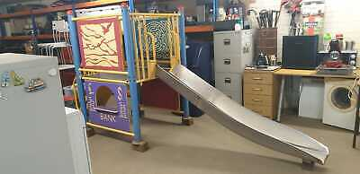 Childrens Multifunctional Play And Slide Made From Metal In A Vgc • 100£