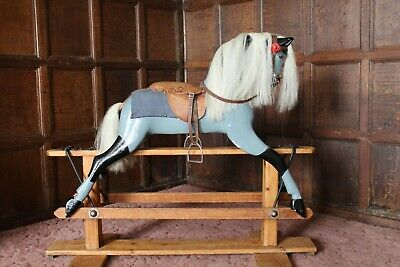 Antique Baby Carriages Rocking Horse • 375£
