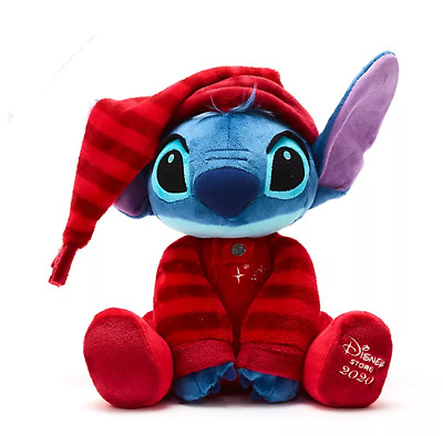 NEW Official Disney 35cm Stitch Holiday Cheer Christmas 2020 Soft Plush Toy • 33.99£