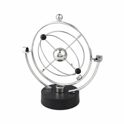 Office Gadget Gift Perpetual Spinner Newtons Cradle Hypnotic Relaxing Cool Gift • 12.95£