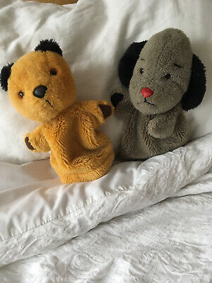 Sooty And Sweep Hand Puppets ( Label Removed From Back) • 3£