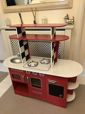 Wooden Childs Play Kitchen & Toddler Toy • 5£