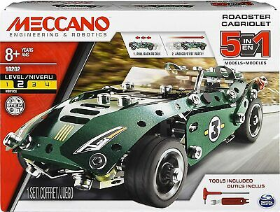 Meccano Rally Racer 1 Model Set With Electric Motor Cabriolet Kit 174 Pieces UK • 18.98£