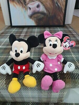 Mickey And Minnie Soft Toys From Florida Disneyland • 6.99£
