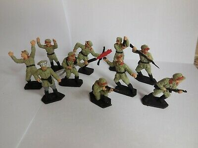 Lone Star German Desert Corp Soldiers Full Set Painted • 9.99£