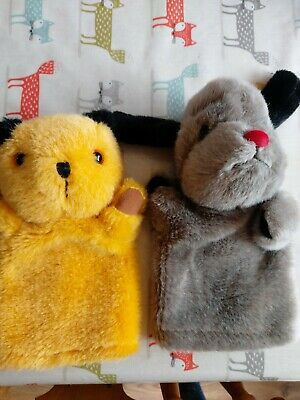 Sooty & Sweep Hand Puppets • 0.99£