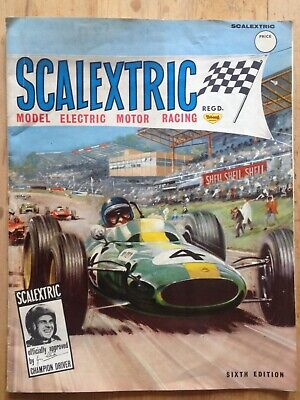 Vintage Scalextric Catalogue Sixth Edition- 1965 • 14.99£