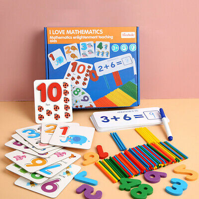 Educational Spelling Alphabet Card Maths Numbers Learning Kids Toddler Toys Gift • 14.71£