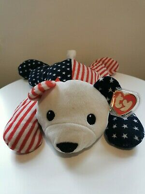 Ty Pillow Pals Collection Stars & Stripes 'Sparkler' Bear   • 1.80£