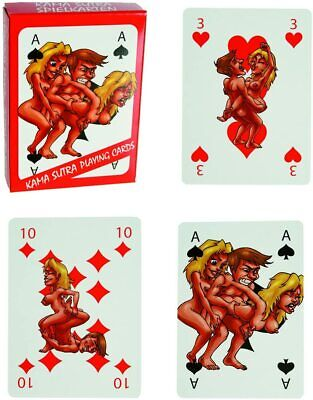 Kama Sutra Playing Cards Couples Sex Positions Erotic Bedroom Pleasure Fun Game • 3.99£