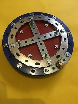 Meccano Compatible 5 1/2  Geared Hooked Bearing With Drive • 55£