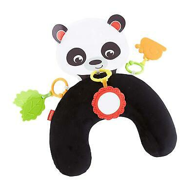 Fisher-Price Hug And Play Tummy Wedge Panda Bear Time Pillow Baby Activity Toy • 37.99£