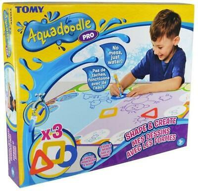 Tomy Shape And Create Aquadoodle Draw Again Playmat Toddler Craft Mess • 19.99£