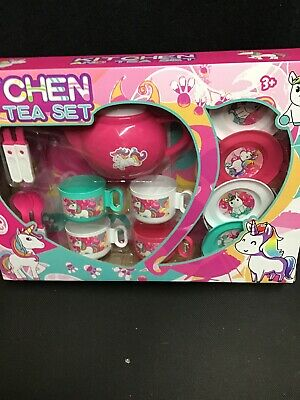 Kids Unicorn Play Tea Set • 10£
