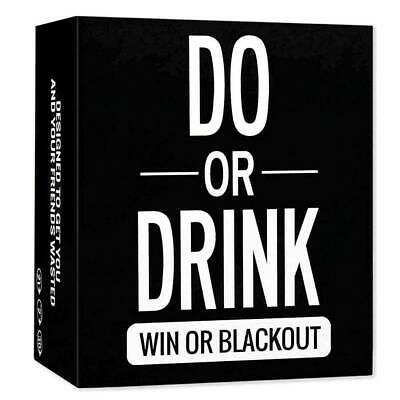 Do Or Drink - Adults Drinking Card Game - Fun & Dirty Party - Dare Or Shots • 14.24£