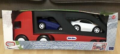 Little Tikes Large Lorry Car Transporter/Carrier & Cars • 28£