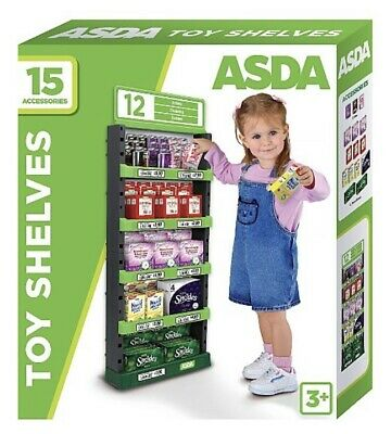 ASDA Toy Supermarket Shelves • 40.99£