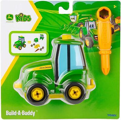 Tomy John Deere Build A Buddy Johnny Tractor Screw Driver Fun Children Toy • 9.90£