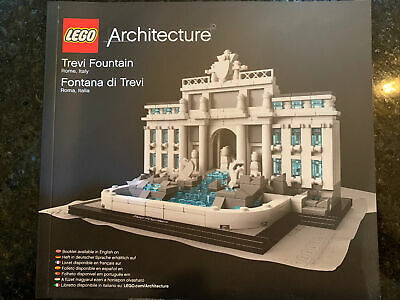 LEGO Architecture 21020 Trevi Fountain Build Instruction Manual ONLY • 10£