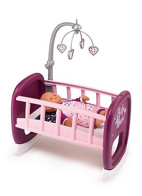 Smoby Baby Nurse 220343 Crib With Bars For Dolls And Cots With Rocking System... • 79.50£