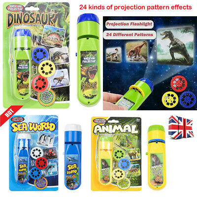 Natural History Museum Dinosaur Creepy Crawly Sea Creatures Torch And Projector • 5.97£