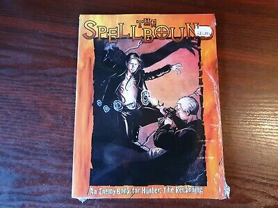 Hunter The Reckoning The Spellbound Enemy Book White Wolf - RPG BOOK SEALED • 19.65£
