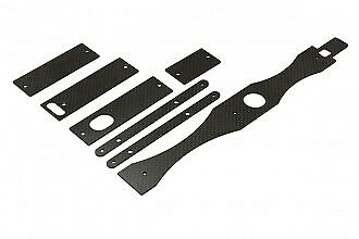 NX4 CF Mounts For Electronics And Stiffener Set (1.6mm) 313503 • 26.63£