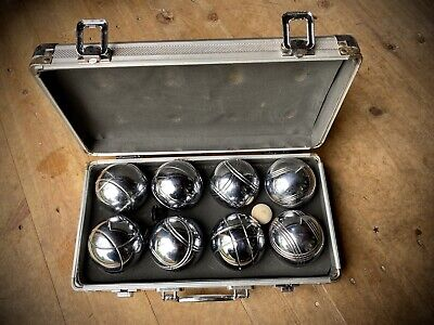 Set Of  French Boules - Metal Case  • 7.40£